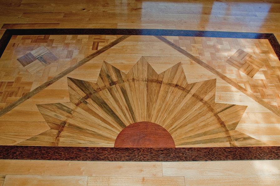 Haiku Ohana Eco Tiny House Maui Bruce Douglas flooring