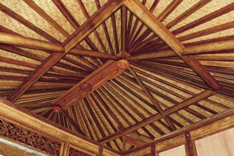 Haiku Ohana Tiny House Hawaii ceiling by Mandala Eco HOmes