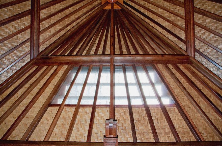 Haiku Ohana Ceiling Woden Eco Architecture