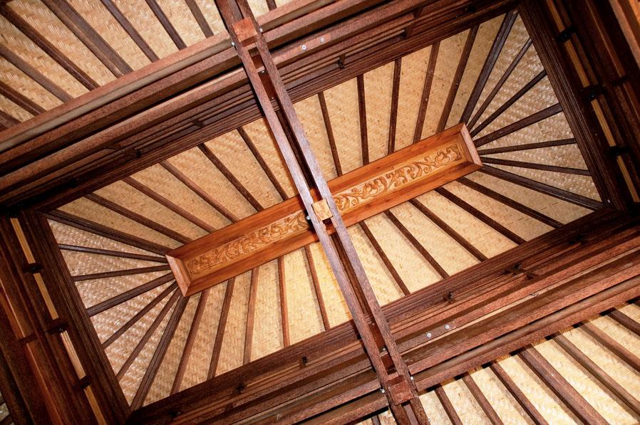 Paia Ohana Roof wooden eco home