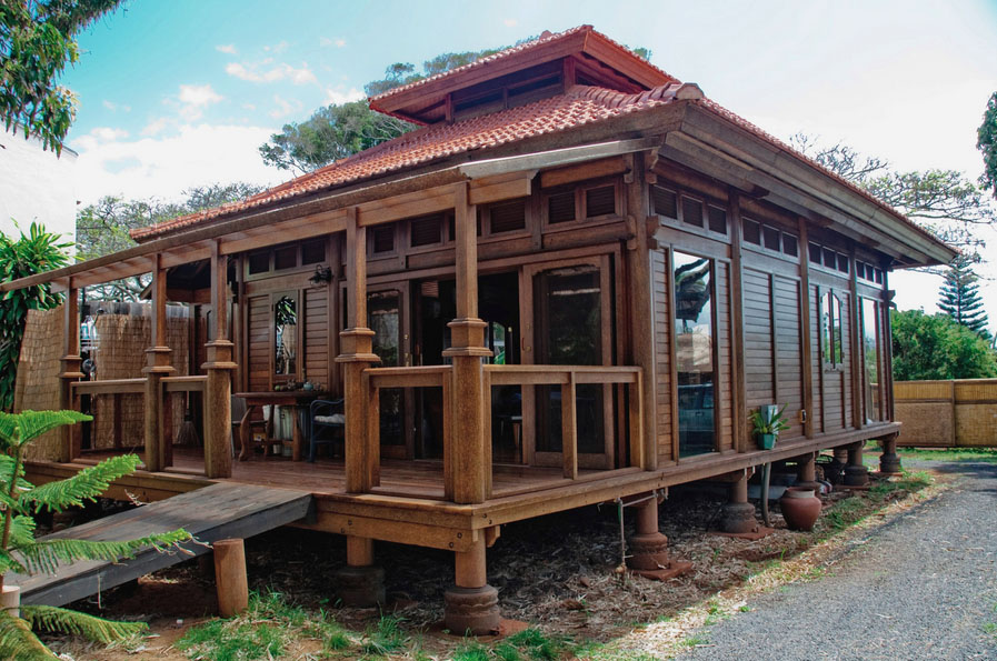 Eco Friendly Homes Paia Ohana Wooden House