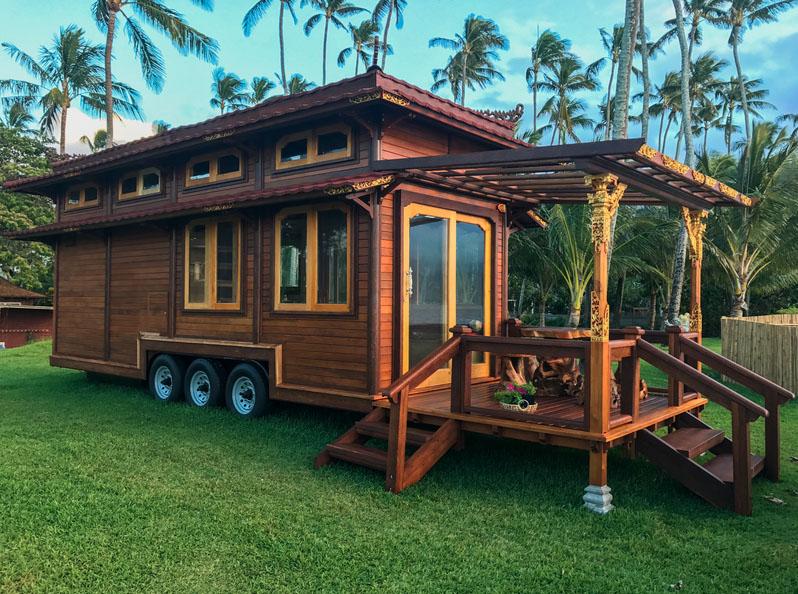 Tiny Houses Tiny Temple Home On Wheels By Mandala Eco Homes Tiny