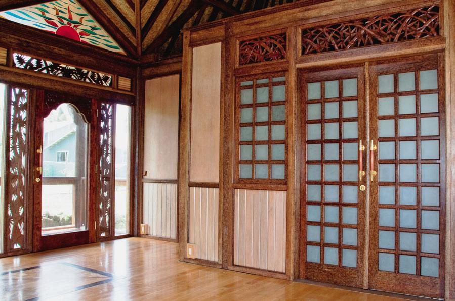 Haiku Ohana Tiny House, kit house Hawaii inside living area by Mandala Eco Homes